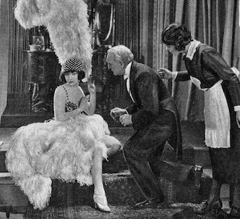 Betty Compson in the 'lost' British silent film Woman to Woman (1923)