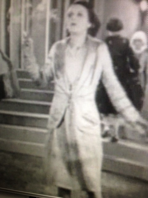 One of the models in the mannequin parade from The Lodger (1926)