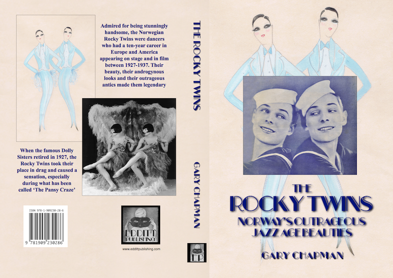 Full cover for The Rocky Twins: Norway's Outrageous Jazz Age Beauties